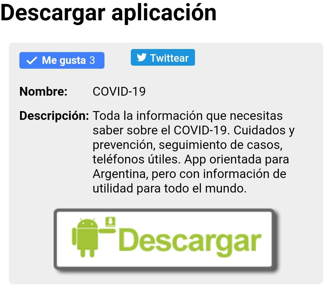 Santafesinos crean la primer app sobre el COVID-19