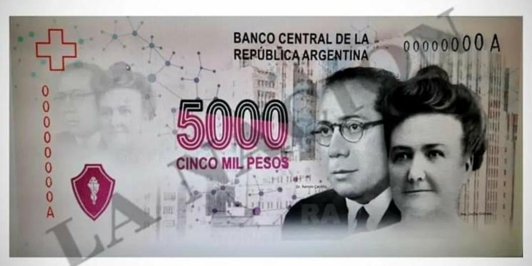 Argentina: El billete de $5.000 ya tiene diseño propio y la fecha de entrega para circular.