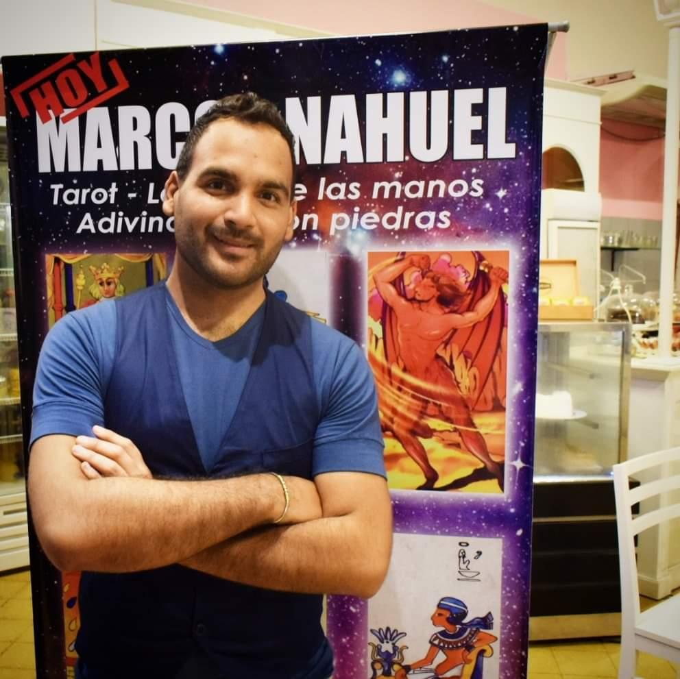 Marcos Nahuel prensa notas tv
