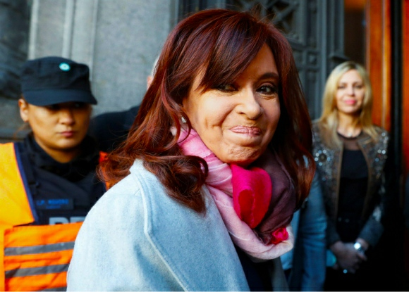Cristina Fernández demandó a Google